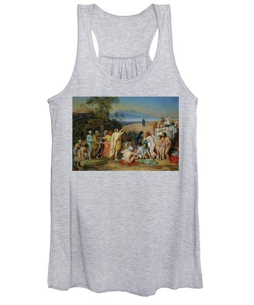 The Apparition Of Christ Women's Tank Top