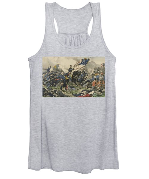 The Battle Of Williamsburg, Virginia On May 5th 1862 Women's Tank Top