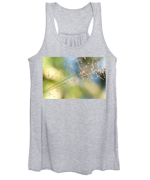 The Beauty Of The Earth. Natural Watercolor Women's Tank Top