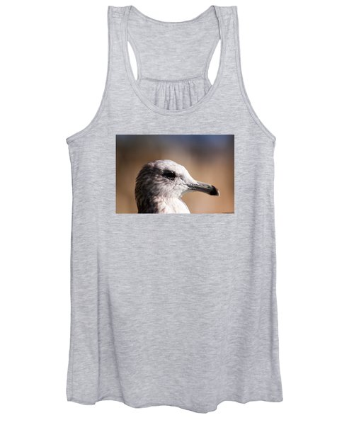 The Best Side Of The Gull Women's Tank Top