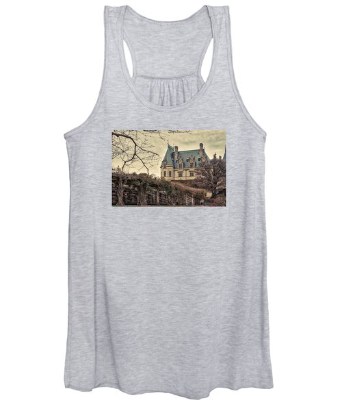 The Biltmore Mansion In The Fall Women's Tank Top