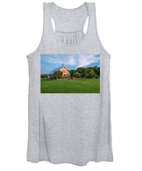 The Brooks At Weatherford Wedding Chapel Women's Tank Top