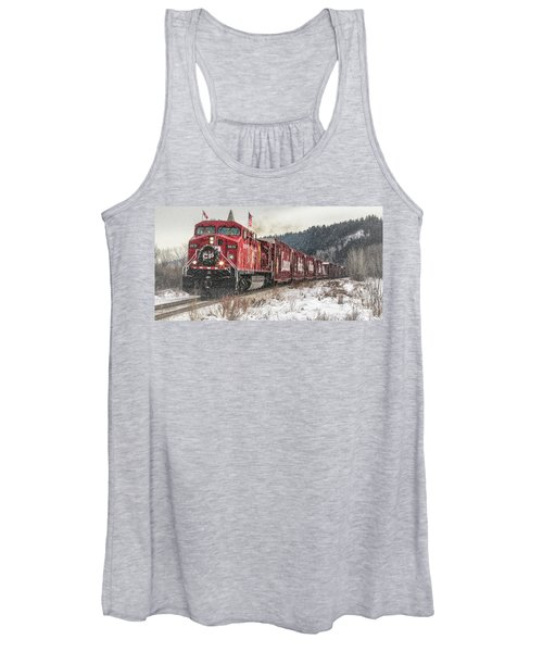 The Canadian Pacific Holiday Train Women's Tank Top
