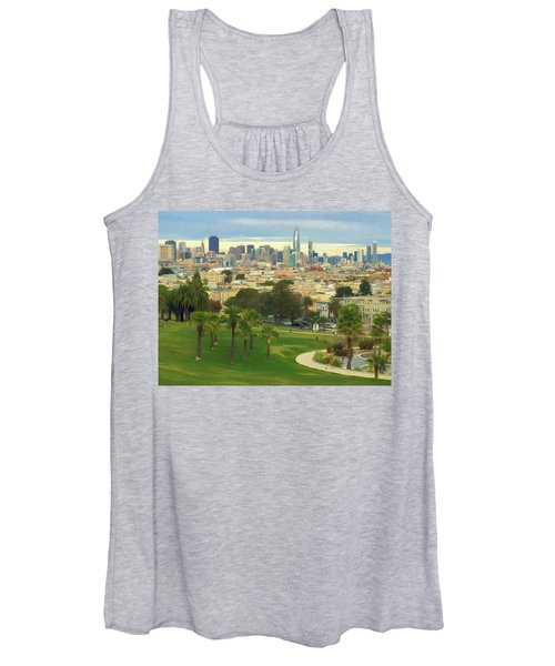 The City From Dolores Park Women's Tank Top
