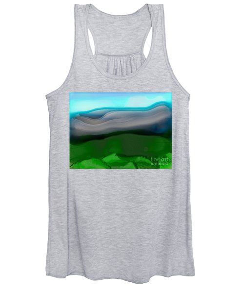 The Hilltop View Women's Tank Top