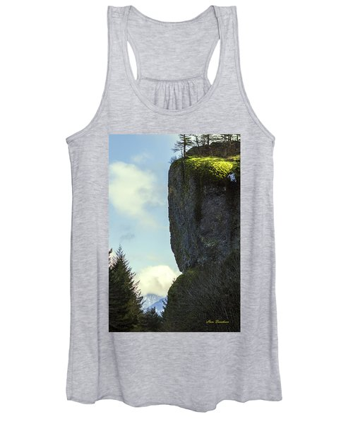 The Cliff Signed Women's Tank Top
