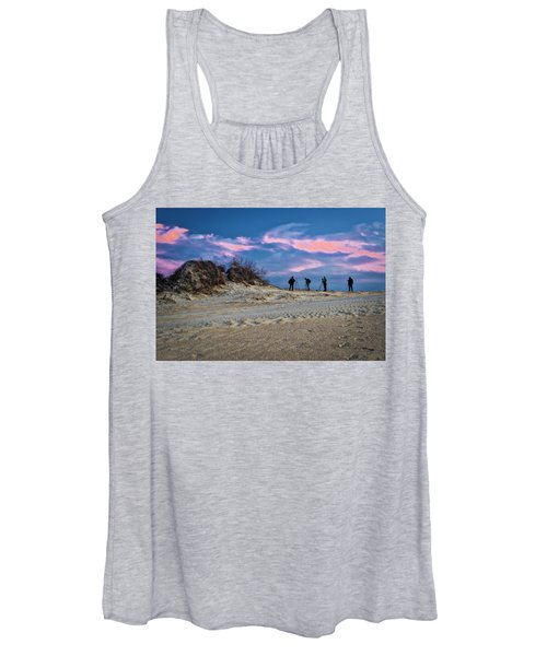 The Colors Of Sunset Women's Tank Top