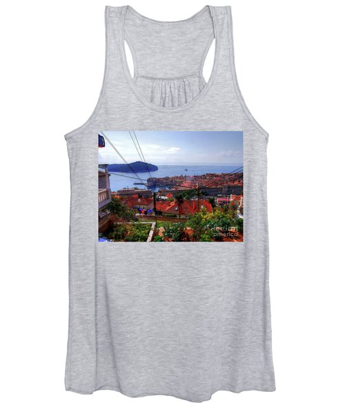 The Colourful City Of Dubrovnik Women's Tank Top