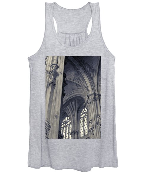 The Columns Of Saint-eustache, Paris, France. Women's Tank Top