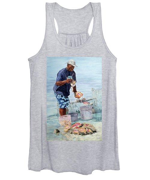 The Conch Man Women's Tank Top