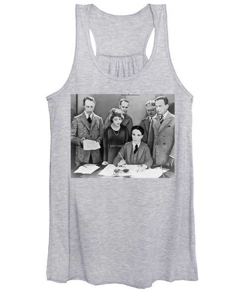 The Creation Of United Artists Women's Tank Top