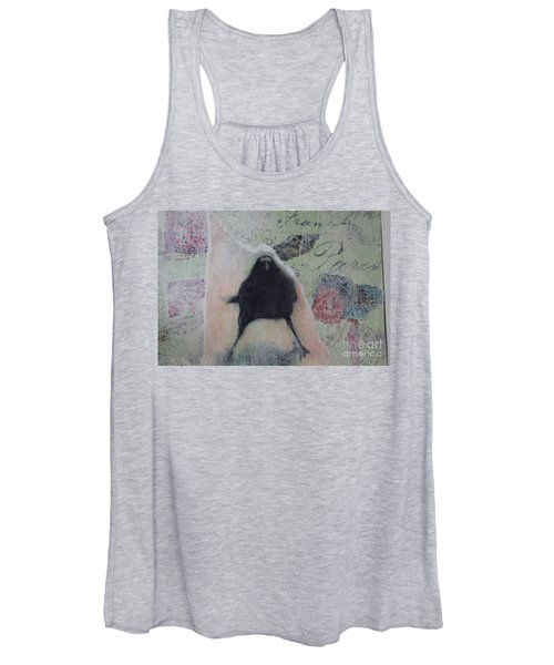 The Crow Called The Raven Black Women's Tank Top