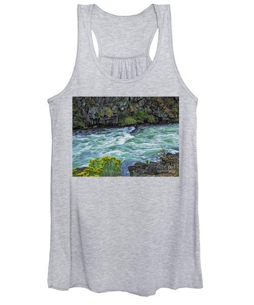 The Deschutes River At Dillon Falls Women's Tank Top