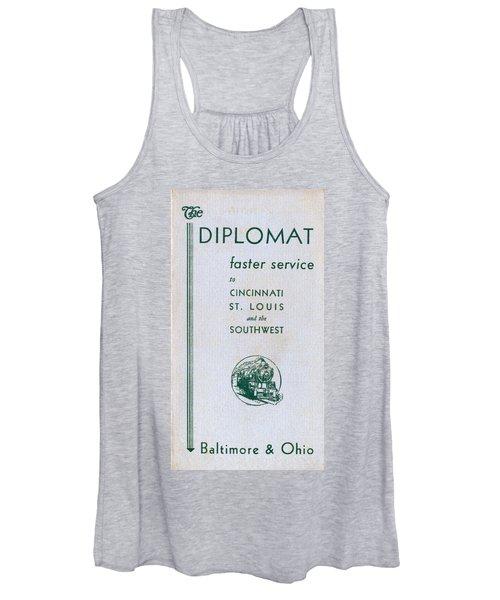 The Diplomat Women's Tank Top