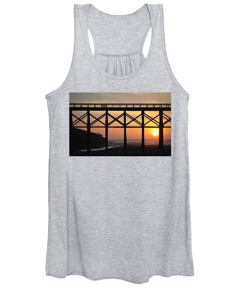 The Edge Of Night Women's Tank Top