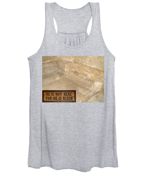 The Empty Tomb Women's Tank Top