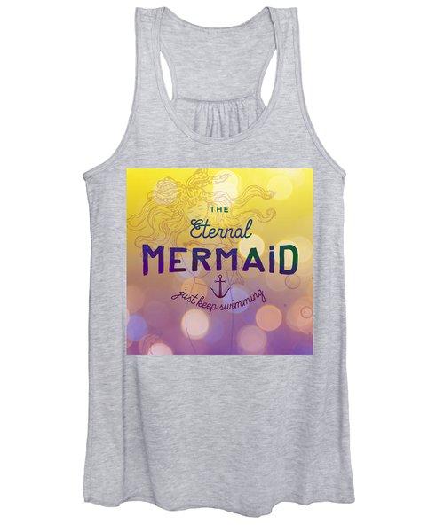 The Eternal Mermaid V1 Women's Tank Top