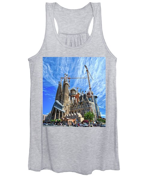 The Expiatory Temple Of The Holy Family Women's Tank Top