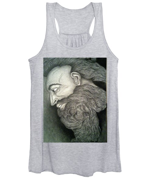 The Face Of God Women's Tank Top