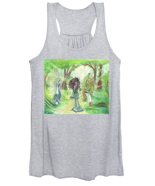 The Fae - Sylvan Creatures Of The Forest Women's Tank Top