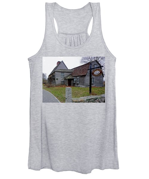 The Fairbanks House Women's Tank Top