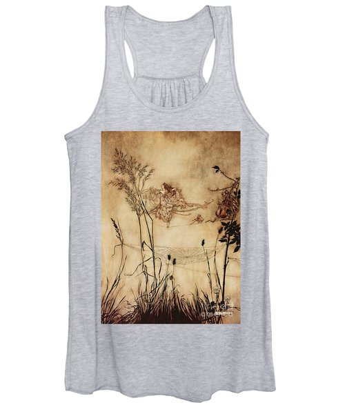 The Fairy's Tightrope From Peter Pan In Kensington Gardens Women's Tank Top