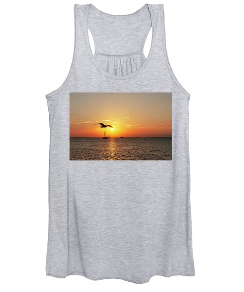 The Famous Key West Sunset  Women's Tank Top