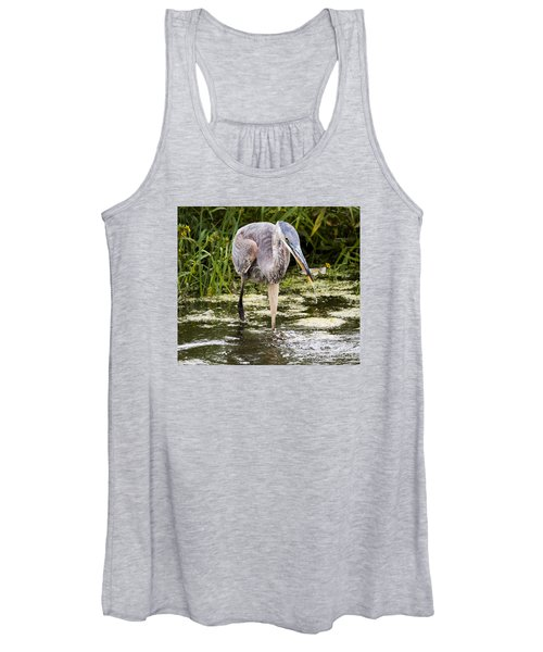 The Great Blue Heron Women's Tank Top