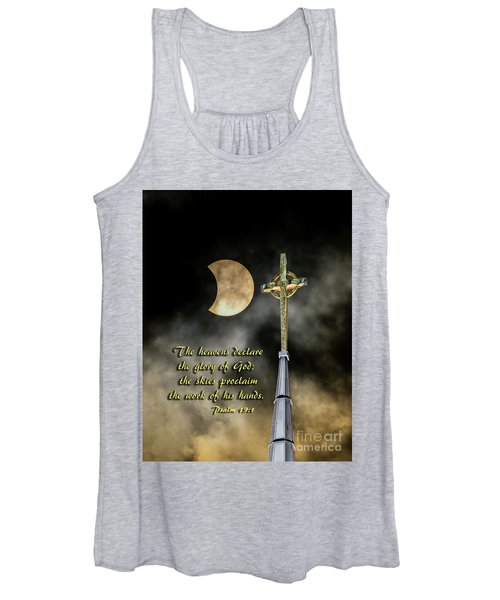 The Heavens Declare The Glory Of God Women's Tank Top