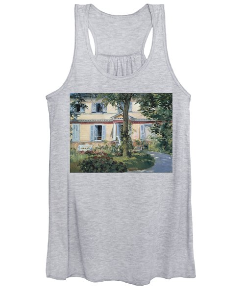 The House At Rueil 1882 Women's Tank Top