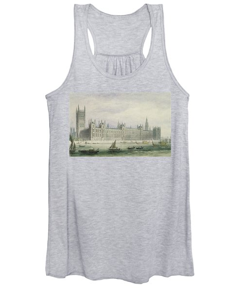 The Houses Of Parliament Women's Tank Top