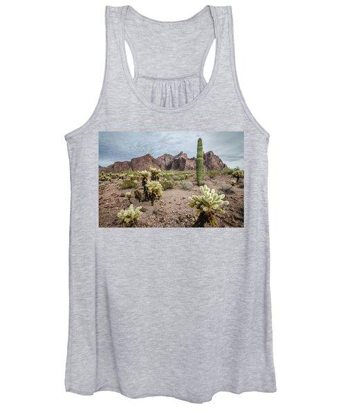 The King Of Arizona National Wildlife Refuge Women's Tank Top