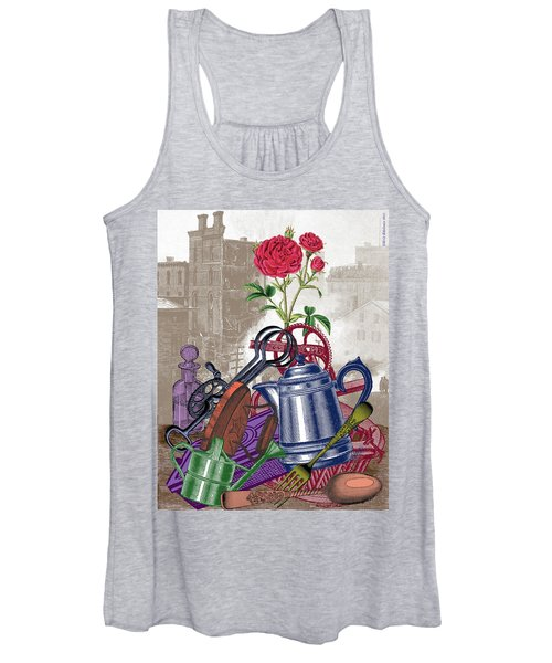 The Land Of Lost Ladders Women's Tank Top
