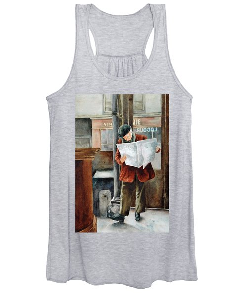 The Latest News Women's Tank Top