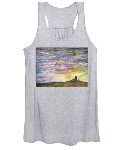 The Living Sky Women's Tank Top