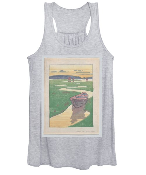 The Lost Boat , Arthur Wesley Dow Women's Tank Top