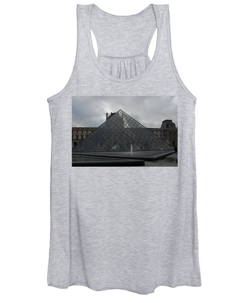 The Louvre And I.m. Pei Women's Tank Top