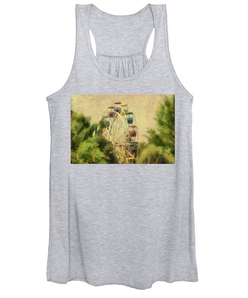 The Lover's Ride Women's Tank Top