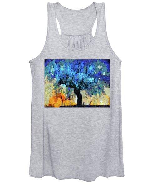 The Magic Blue Faraway Tree Women's Tank Top