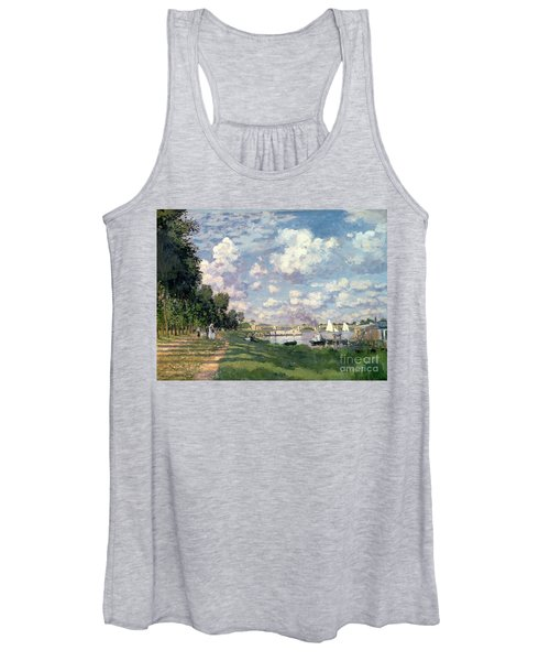 The Marina At Argenteuil Women's Tank Top