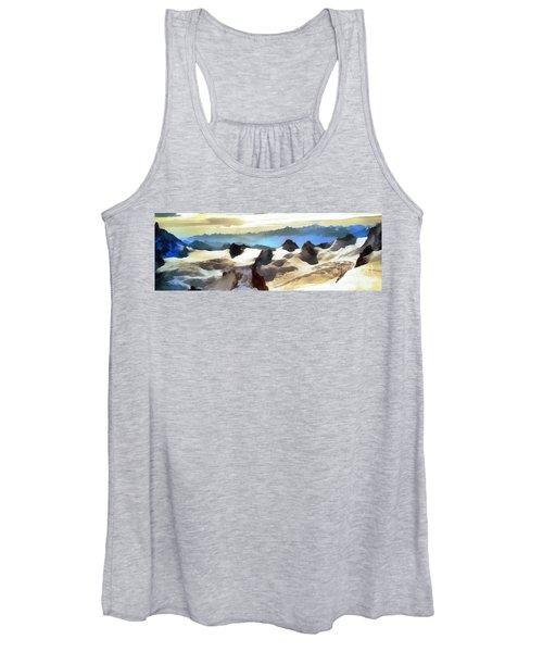 The Mountain Paint Women's Tank Top