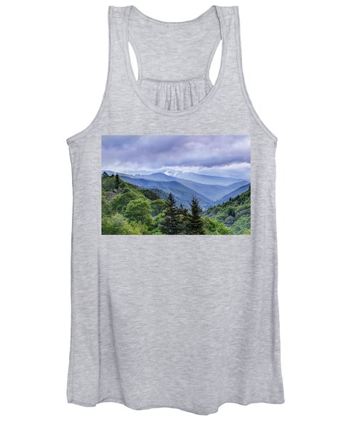 The Mountains Of Great Smoky Mountains National Park Women's Tank Top