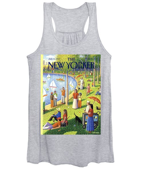 The New Yorker July 15th, 1991 Women's Tank Top