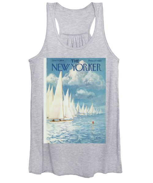 New Yorker Cover - June 13th, 1959 Women's Tank Top
