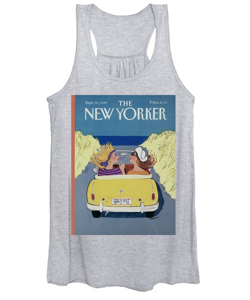 The New Yorker Cover - September 18th, 1989 Women's Tank Top