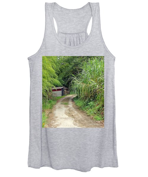 The Old Forest Road Women's Tank Top