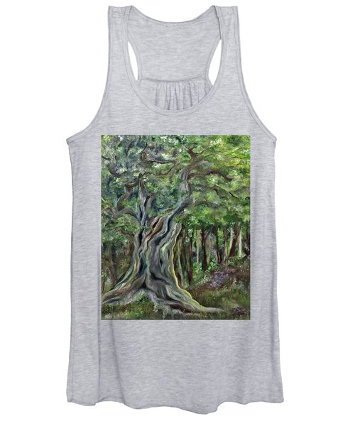 The Om Tree Women's Tank Top