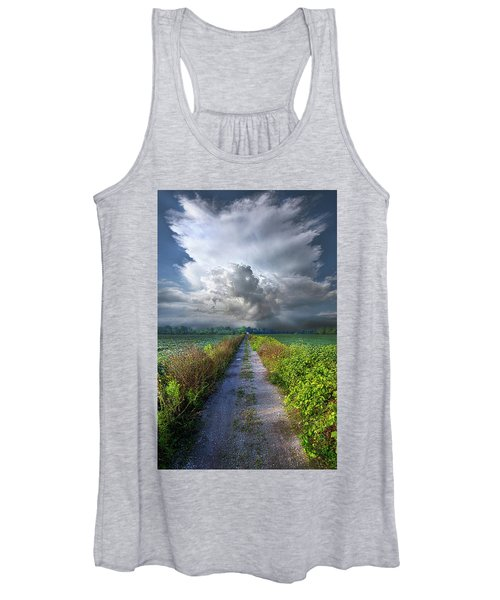 The Only Way In Women's Tank Top