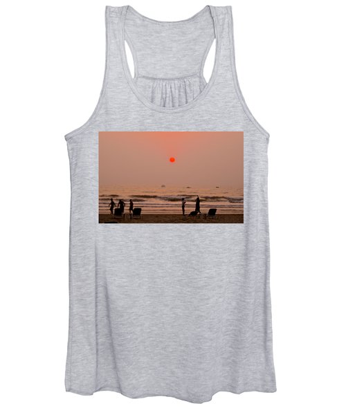The Orange Moon Women's Tank Top