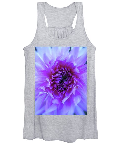 The Passionate Dahlia Women's Tank Top